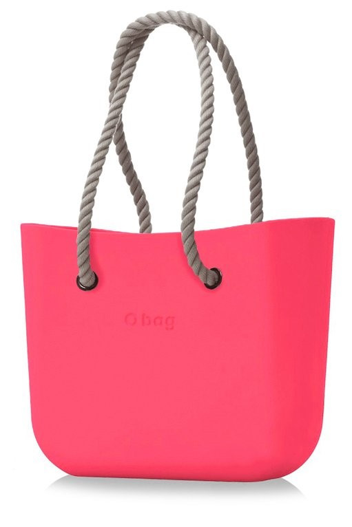 O bag kabelka Amaranto s natural provazovými držadly