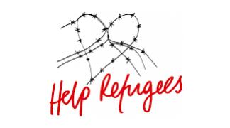 9e3339dff Help Refugees Choose Love organic cotton rainbow print t-shirt ...