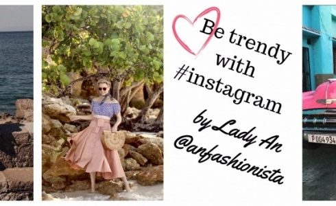 Be trendy with #instagram