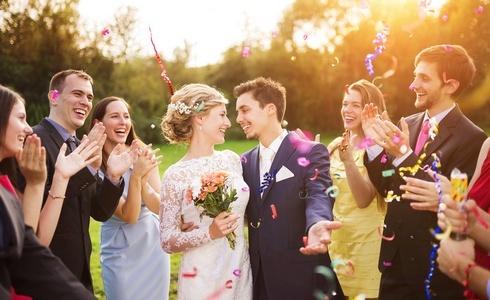 Svatebčankou na podzimní svatbě