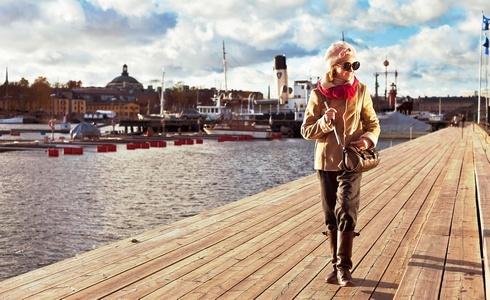 Oblékněte se na zimu jako holky ze Stockholmu!