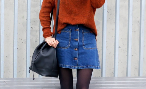 Áčková sukně je hit zimy. Sluší každé postavě a nevychází z módy
