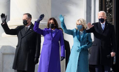 Co symbolizovaly šaty Kamaly Harris a Jill Biden na inauguraci nového amerického prezidenta?
