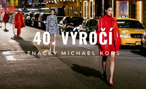 Michael Kors oslavil své 40. výročí v módním světě velkolepou módní přehlídkou