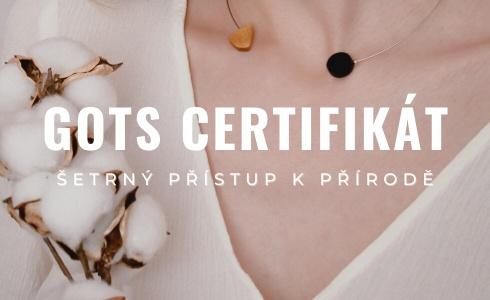 Co je to GOTS certifikát? A proč si ho při nákupu oblečení začít všímat?