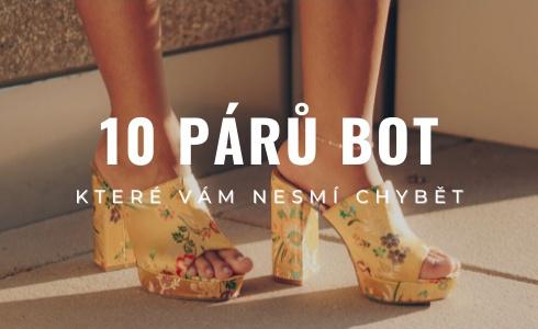 Tohle je 10 párů bot, které by v šatníku měla mít každá žena. Máte je všechny?