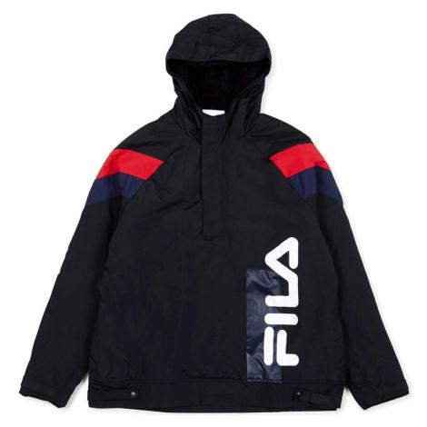 Fila Men tru faux lambswool lined jacket Černá