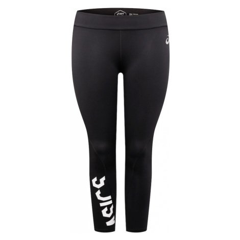 ASICS Sportovní kalhoty 'ESNT' černá / bílá
