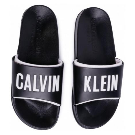 Pánské pantofle Calvin Klein KM0KM00495 Černá