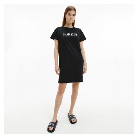 Calvin Klein dámské černé šaty na plavky
