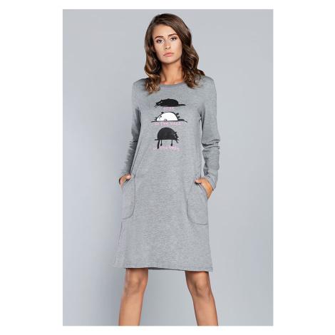 Dámská noční košile Italian Fashion Dima dl.r. s
