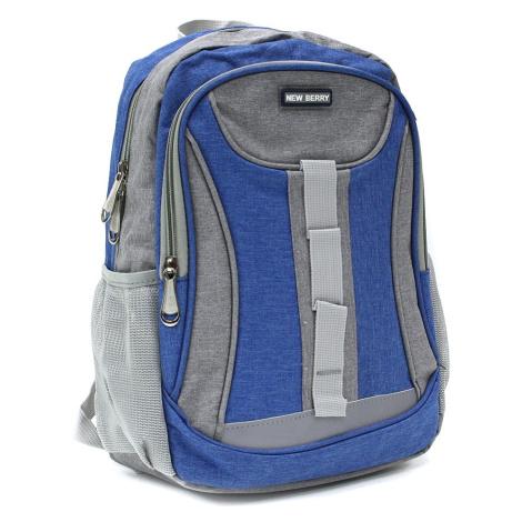 Světle modrý dětský sportovní batoh Beckham New Berry