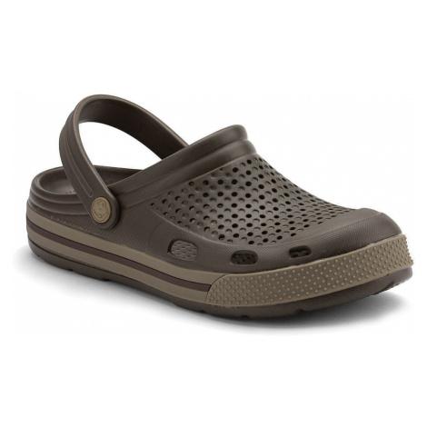 COQUI LINDO Pánské sandály 6403-188 Chocolate