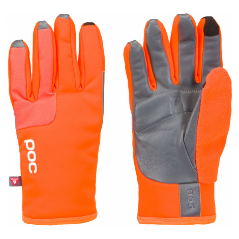 Cyklistické rukavice POC THERMAL GLOVE oranžová