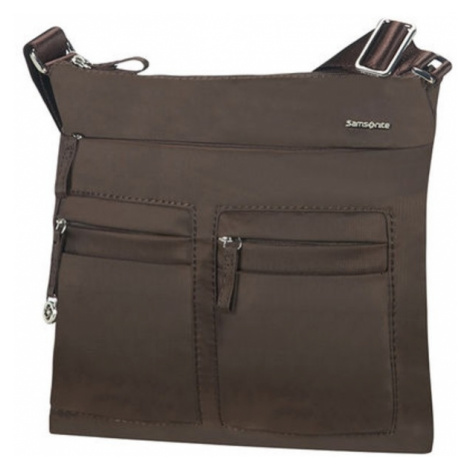 Samsonite Mini sportovní kabelka/kapsa na IPAD MOVE 2.0 hnědá, 28 x 4 x 30 (88D-09129)
