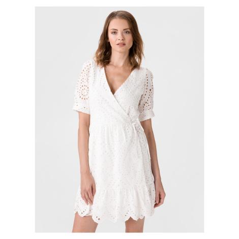 Therese Šaty Vero Moda Bílá