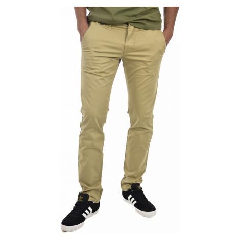 Guess GUESS pánské béžové kalhoty