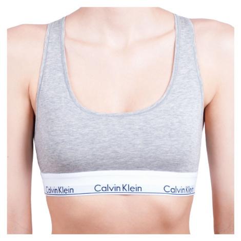 Dámská podprsenka Calvin Klein šedá (F3785E-020)