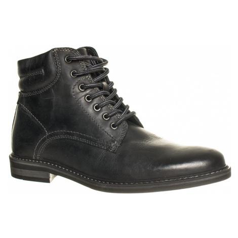 Pier One pánské boty kožené černé