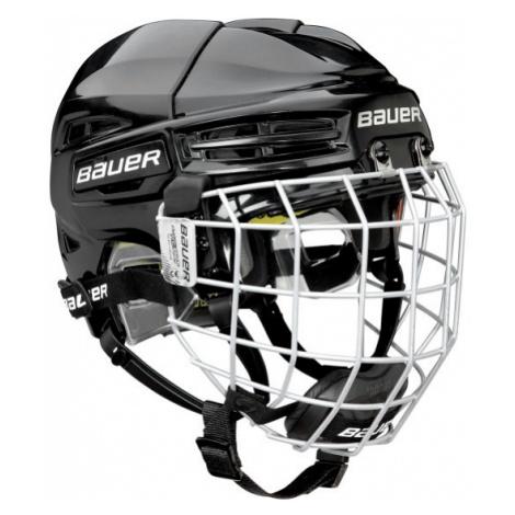Bauer RE-AKT 100 YTH COMBO černá - Dětská hokejová helma s mřížkou