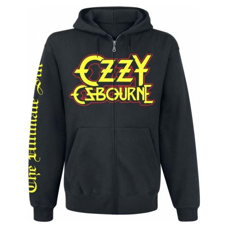 Ozzy Osbourne Ultimate Sin mikina s kapucí na zip černá