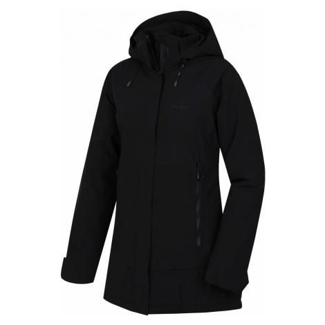 Husky Nigalo L, černá Dámský hardshell plněný kabátek