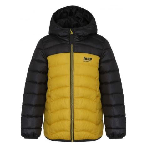 Loap INPETO žlutá - Dětská bunda