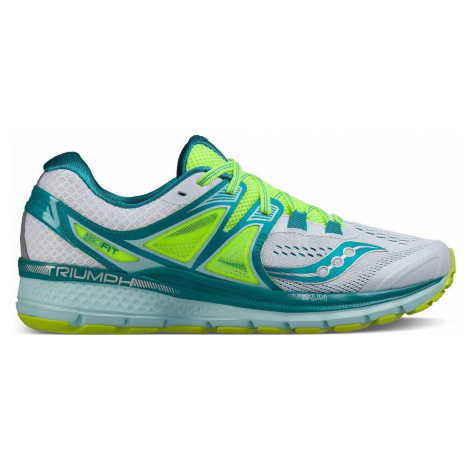 Dámská běžecká obuv Saucony Triumph ISO 3 Zelená / Bílá