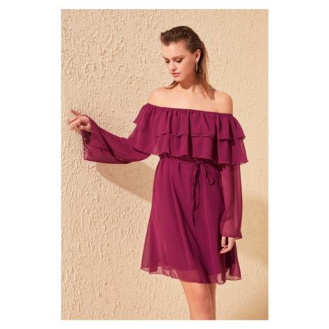 Trendyol dámské šaty s odhalenými rameny