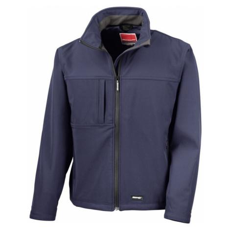 3 vrstvá pánská softshellová bunda FREE - Navy modrá