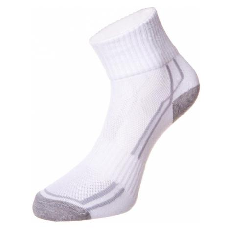 Unisex ponožky Alpine Pro HARE 3 - bílá