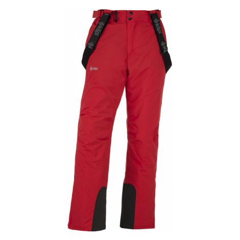 KILPI Pánské lyžařské kalhoty - větší velikosti MIMAS-M JMX013KIRED Červená