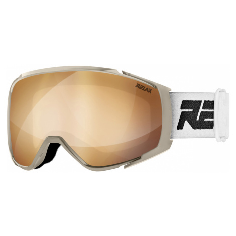 RELAX SKYLINE Lyžařské brýle HTG69C bílá L