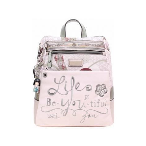 Kimmidoll dámský batoh 30655-02 beige Béžová