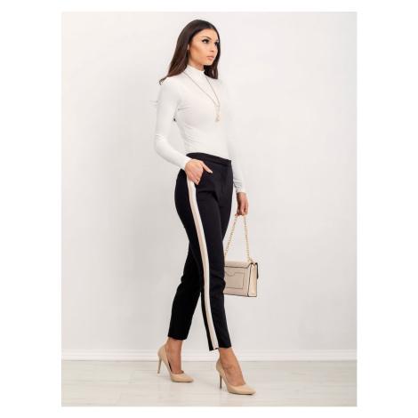 RUE PARIS ecru turtleneck blouse Fashionhunters