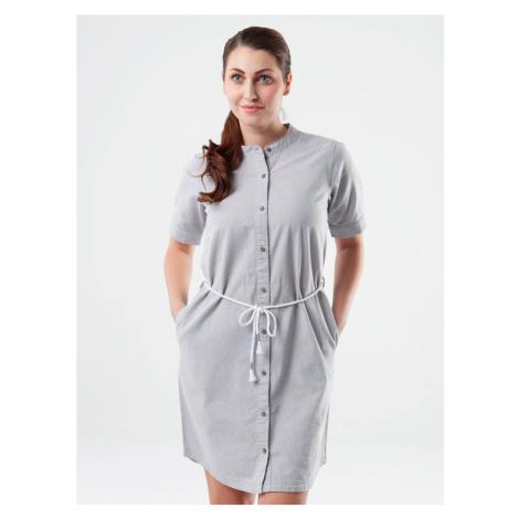 Loap Nury dámské sportovní šaty šedé žíhané