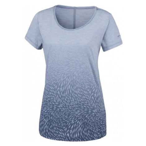 Columbia OCEAN FADE SHORT SLEEVE TEE modrá - Dámské triko