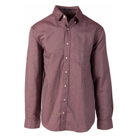 Gant pánská košile vínově červená