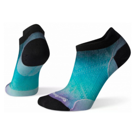 Dámské ponožky Smartwool W PhD Run Ultra Light Ombre Print Micro capri