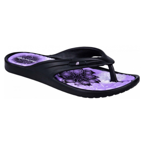 ALPINE PRO GLATIRA černá - Dámská letní obuv