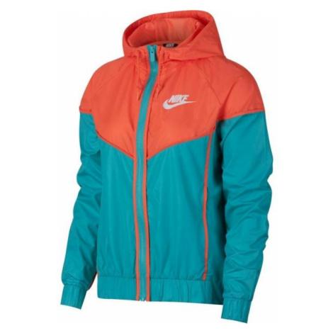 Nike NSW WR JKT oranžová - Dámská bunda