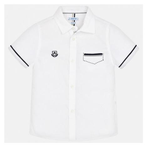 Chlapecká košile Myaoral 3163 | bílá Mayoral