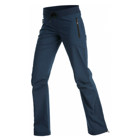 LITEX Kalhoty dámské dlouhé bokové - zkrácené. 99571514 tmavě modrá
