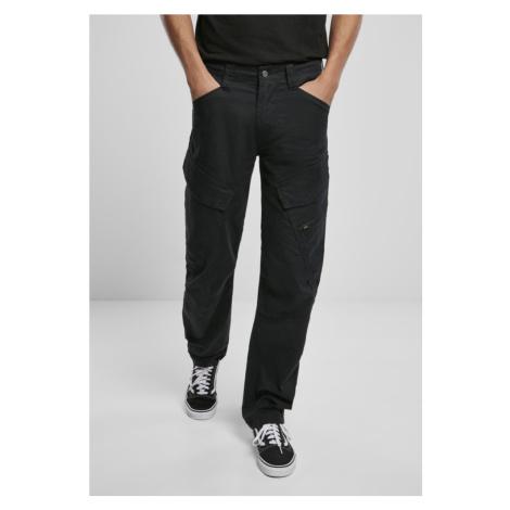 Adven Slim Fit Cargo Pants - black Urban Classics