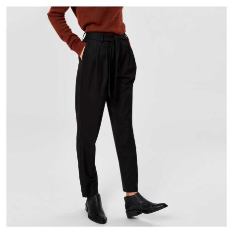 Černé kalhoty Bio Selected