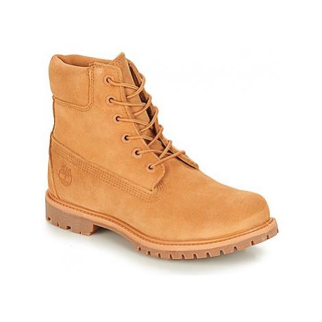 Timberland 6in Premium Suede Boot Béžová