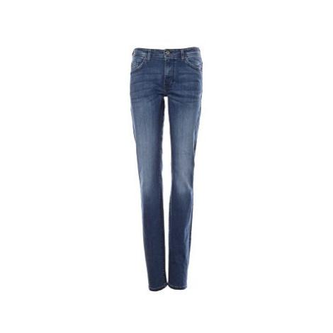 Mustang jeans Sissy Slim dámské tmavě modré