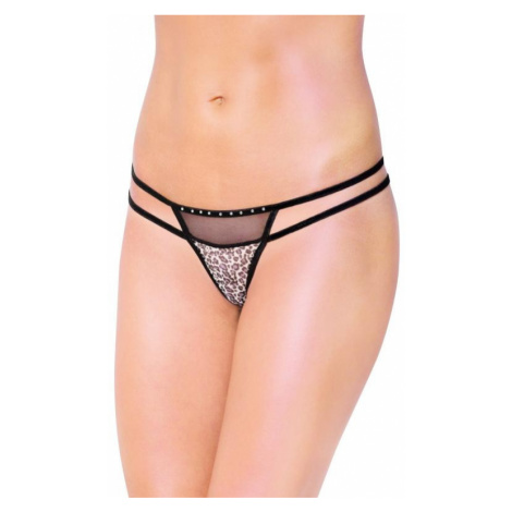 Dámské erotické tanga SoftLine collection 2459   černá