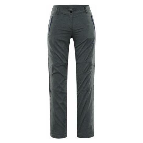 Dámské softshellové kalhoty Alpine Pro MURIA 4 - tmavě zelená