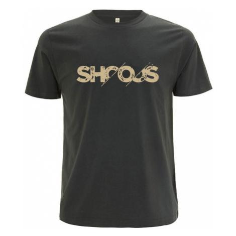 Shooos Vanished Logo T-Shirt Limited Edition hnědé 01059-VL